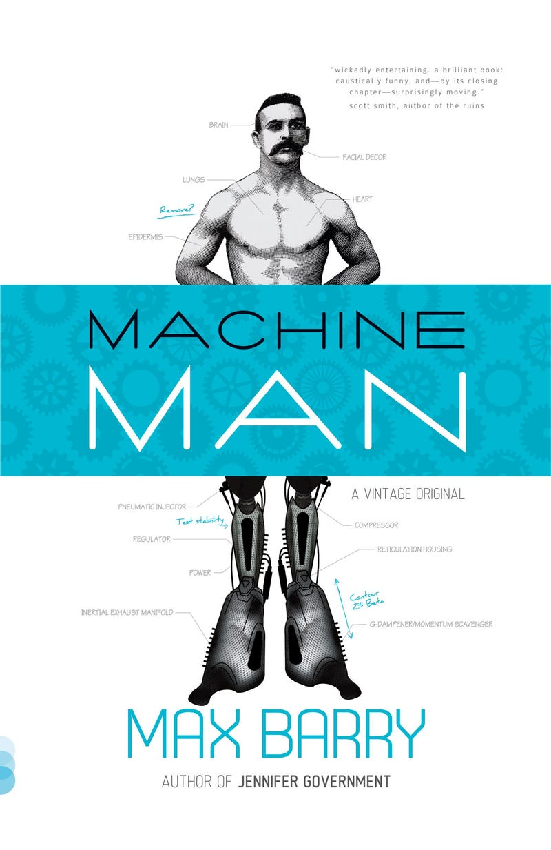 An Exclusive Excerpt from Max Barry's New Cyborg Novel, Machine Man