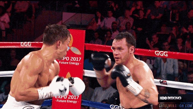 Golovkin Demolishes Geale