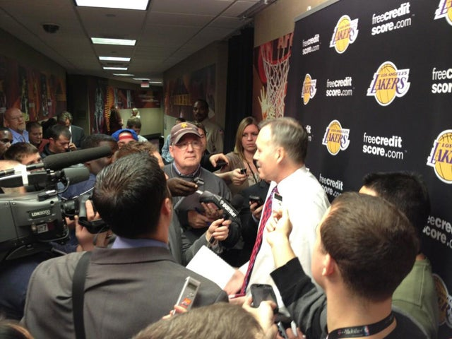 The Only Thing Mike D'Antoni Detests More Than His Team's Play Is T.J. Simers' Questions