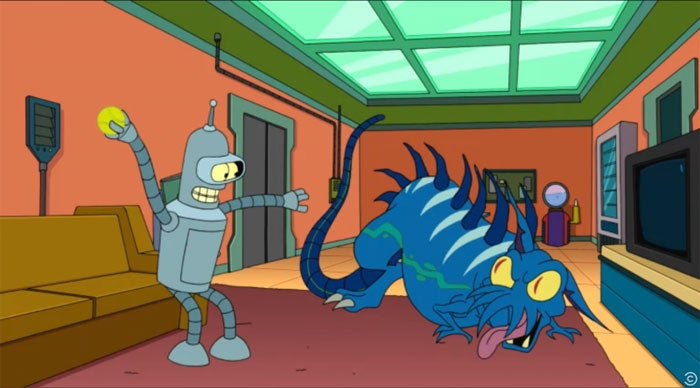 Sneak peeks prove Futurama has saved the funniest bits for last