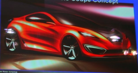 Hyundai Concept Genesis Coupe to Be Revealed at LA Auto Show