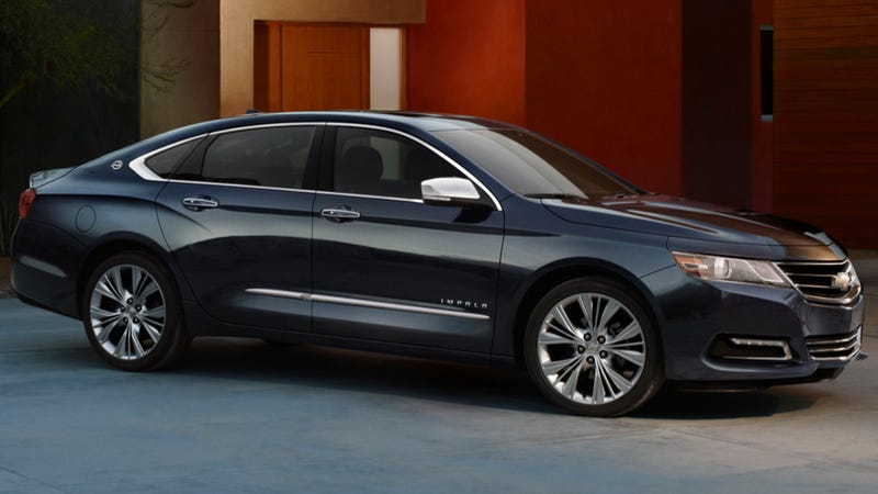 2014 Chevy Impala: Press Photos