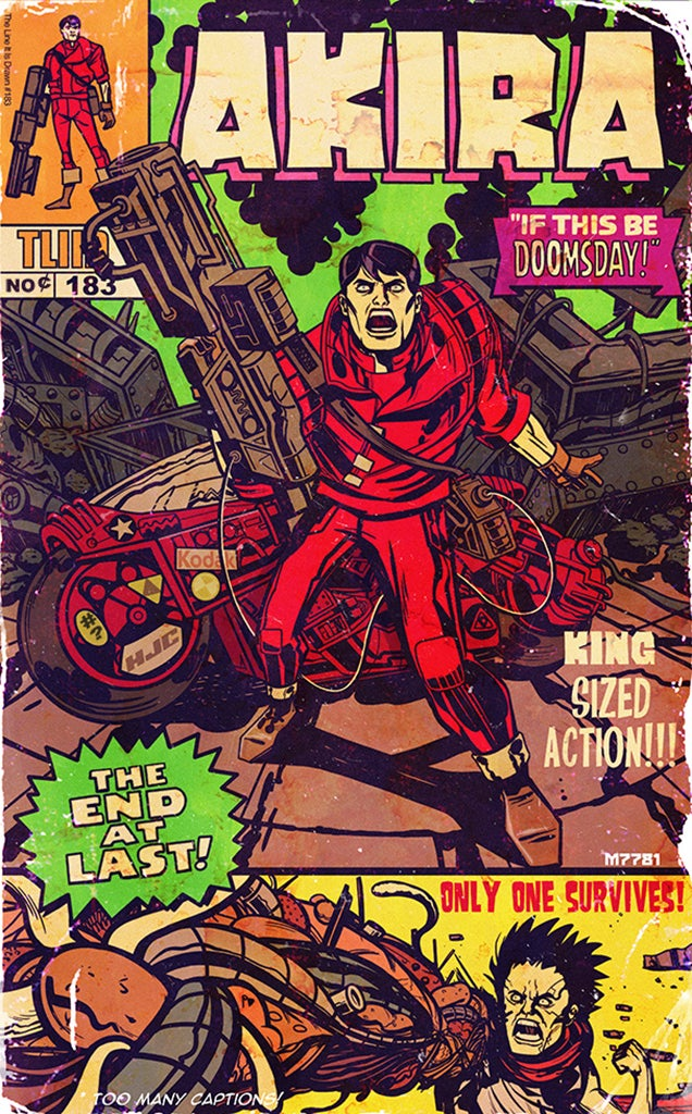 Somebody please release Akira reimagined in Jack Kirby's style