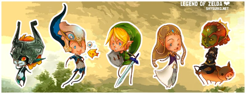 BioShock, Zelda and Left 4 Dead Never Looked This Cute