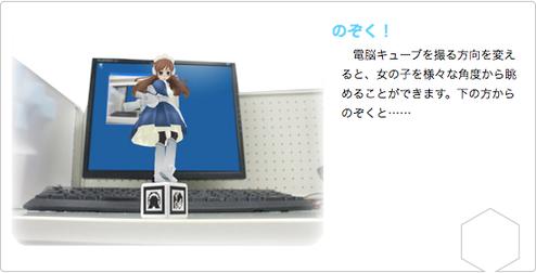 Cyber Figure Alice Creates Interactive Virtual Peepshow Right On Your Desk