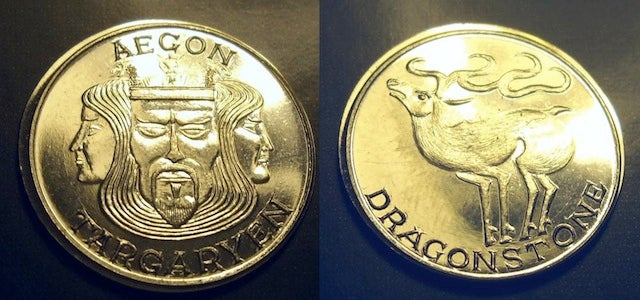 Pay your fare across the Narrow Sea with these Game of Thrones coins