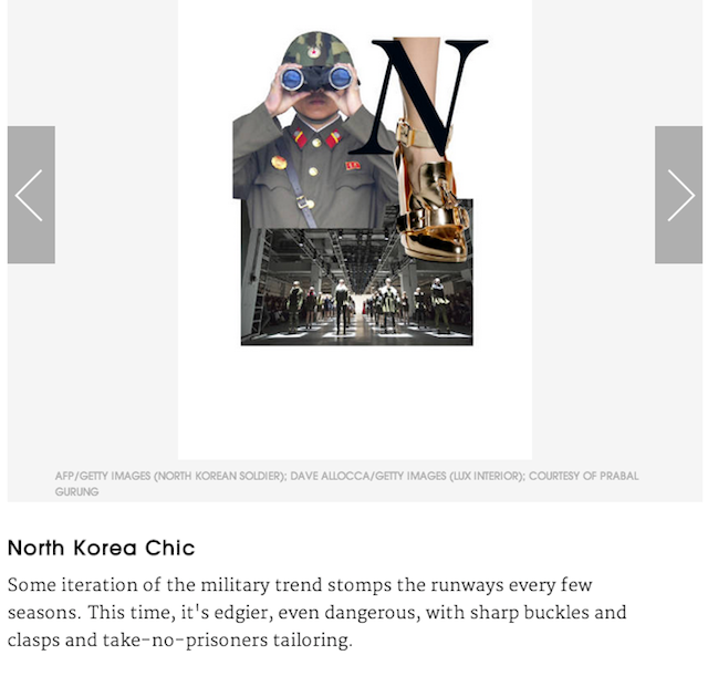 North Korea Has the Hottest Dictator Fashion, According to Elle