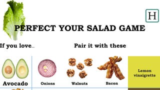 This Graphic Shows How to Pair Ingredients for More Flavorful Salads