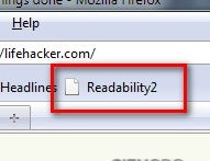 Readability 2 Makes Web Pages Even More Minimalist