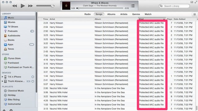 Delete Old DRM Copies of iTunes Music and Download DRM-Free Versions