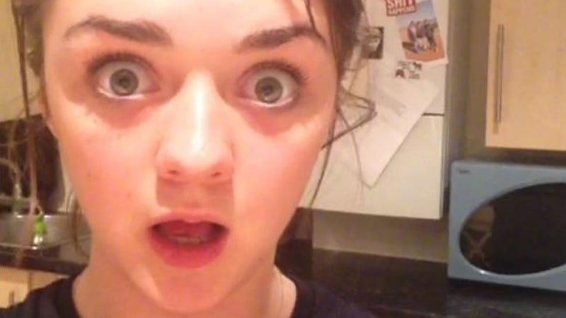 "Arya Stark's Game of Thrones ""Red Wedding"" Reaction Video Is the Best"