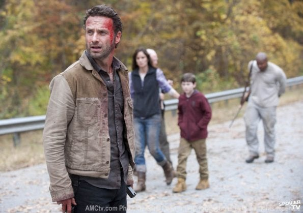 Walking Dead Finale Stills