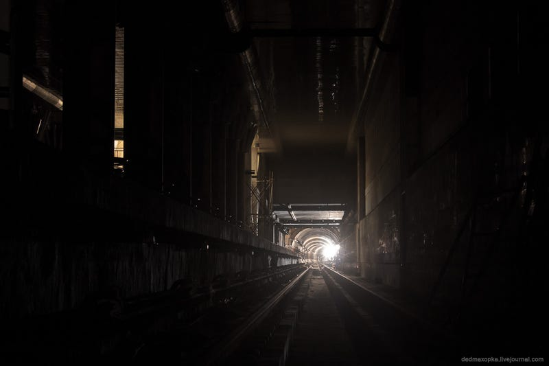 The industrial infinity of Kiev's metro tunnels