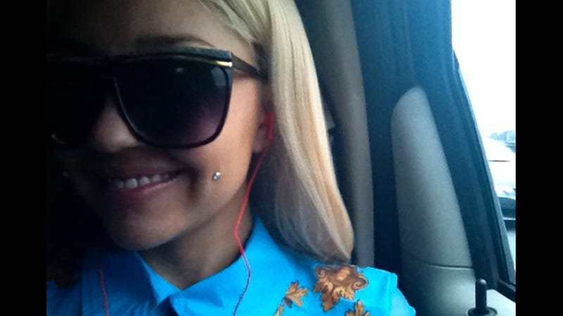 Amanda Bynes Put a Little Stud in Her Cheek, I Guess Because She's Done Being Famous?