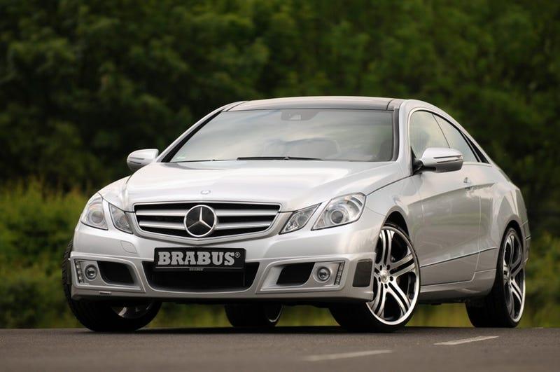 BRABUS Mercedes E-Class Coupe: 462 HP, 196 MPH And More Bruce!