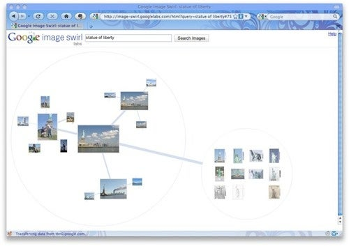 Refine Your Image Search With Google Image Swirl