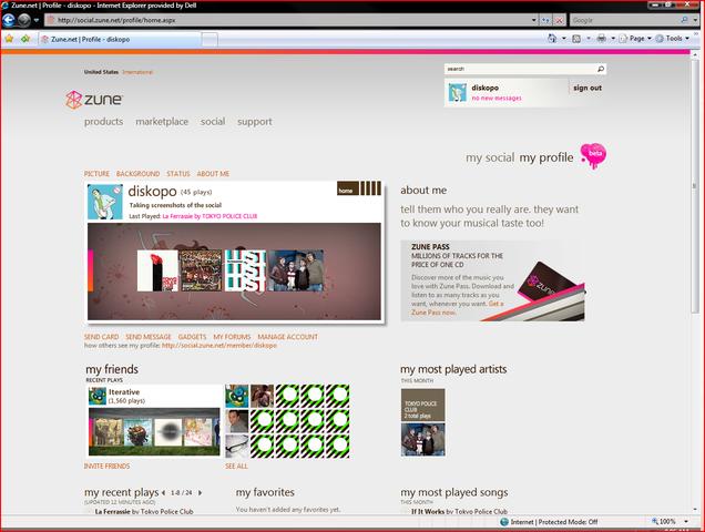 Zune 2.5 Update Screenshot Tour