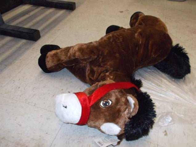 Here's the Plush Horse Fucked by the Walmart Horse Fucker
