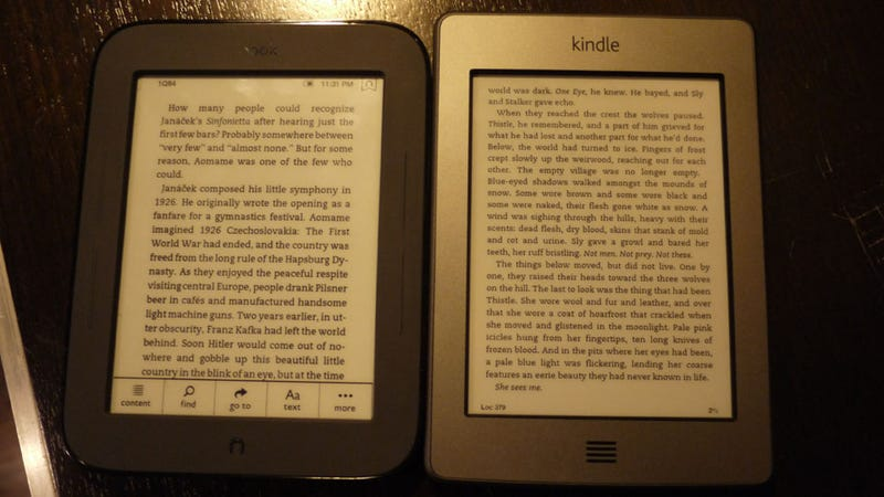 Kindle Touch Gallery