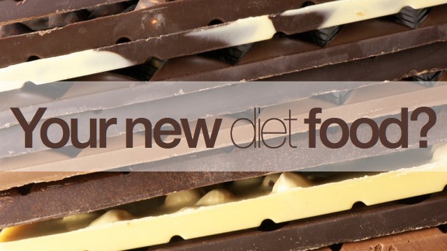 Eat chocolate. Lose weight. Yeah, right.