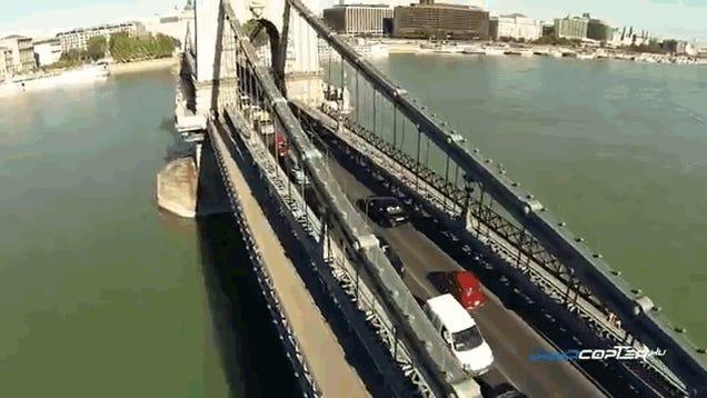 Budapest drónról nézve is lélegzetelállító