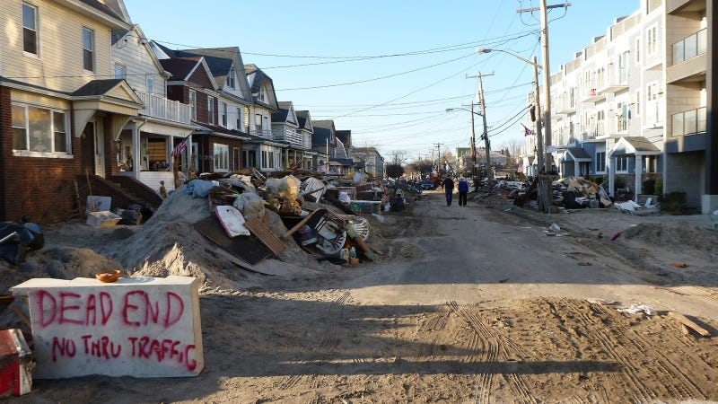 Garbage Mountain and Armored Cars: The Rockaways Are Still in Ruin