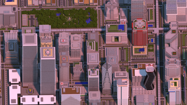 Man spends two years building amazing megacity in Minecraft