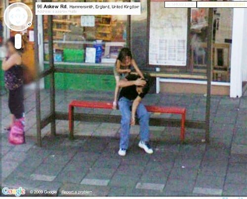On Street View, Google Knows Of Your Daily Torment