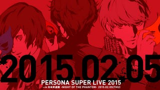 Reminder: Persona Super-Live Night of the Phantom is Coming on Feb. 5.