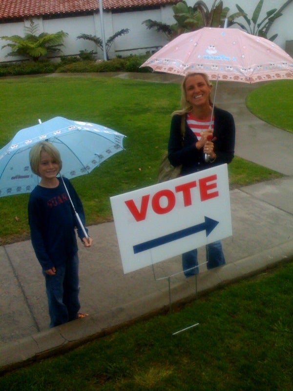 Election Day Images: Yes We Can...Wait Happily In Line To Vote (Part 2)