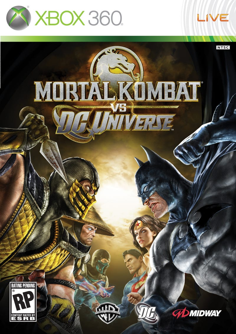 Mortal Kombat Box Art Revealed, Plus Shazam!