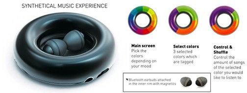 Colorsonic MP3 Player Lets You Control Your Moods without a Prescription