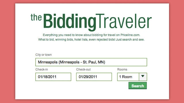 The Bidding Traveler Helps You Get the Best Hotel Prices with Priceline