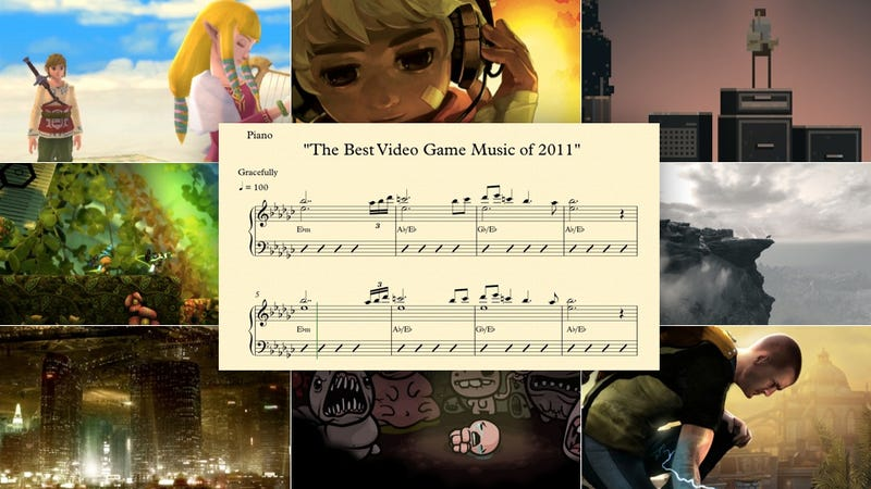 All of the Best Video Game Music of 2011