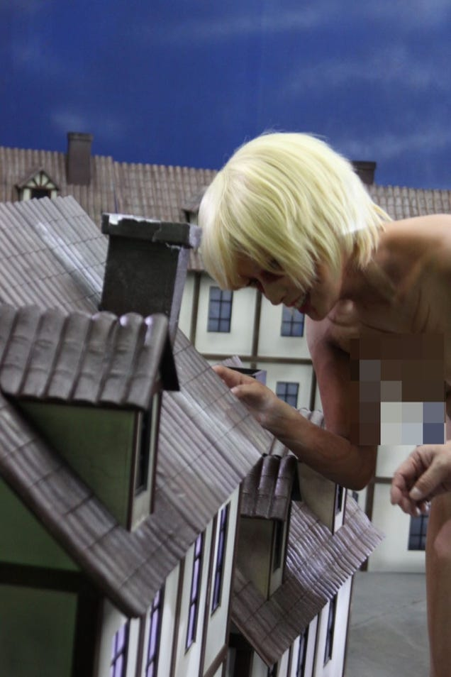 The Attack on Titan Porn Looks Absolutely Mental