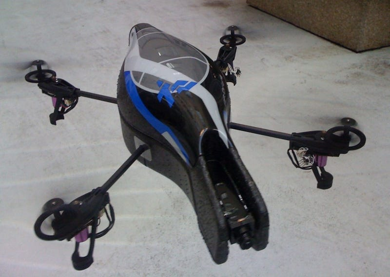 iPhone-Controlled Parrot Drone Is a Lot Cooler Than Its Name Suggests