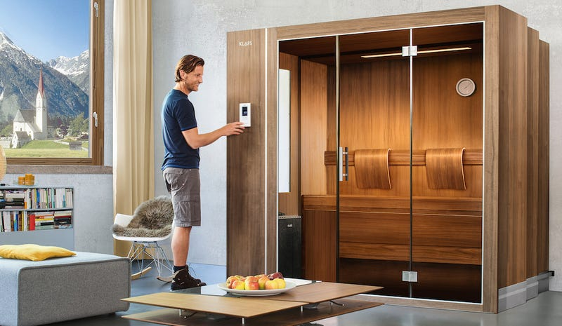 Even Tiny Apartments Have Room For This Collapsable Sauna