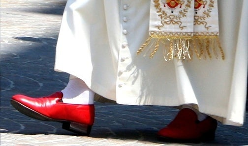 Pope Wants World's Money, For Shoes