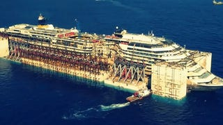 Modified Costa Concordia is the strangest ship to ever sail the sea