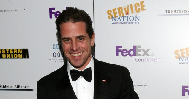 Joe Biden's Son Booted Out of Navy Reserve for Doing Cocaine