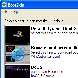 Customize your Windows boot screen