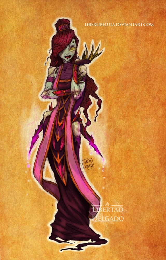 Disney Princesses Would Be Fascinating Warcraft Characters