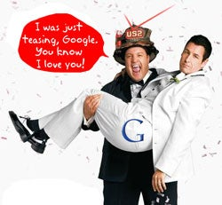 Verizon Hugs Google, Says Android Is Key to Open Networks
