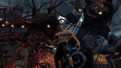 Splatterhouse Screens Get Chunks Of Stuff All Over The Place