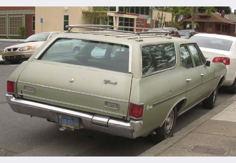 1971 Chevrolet Concours Station Wagon