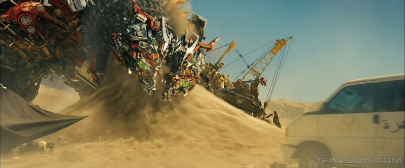 New Transformers 2 Trailer: Now In High-Res!