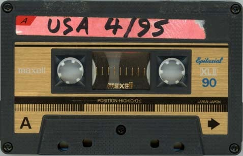 Around The Country In 22 Days: The Orange Mix Tape