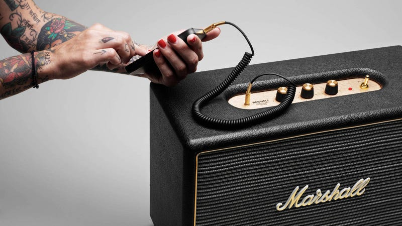 Marshall's First Stab at Home Audio Will Rock Your Apartment Hard