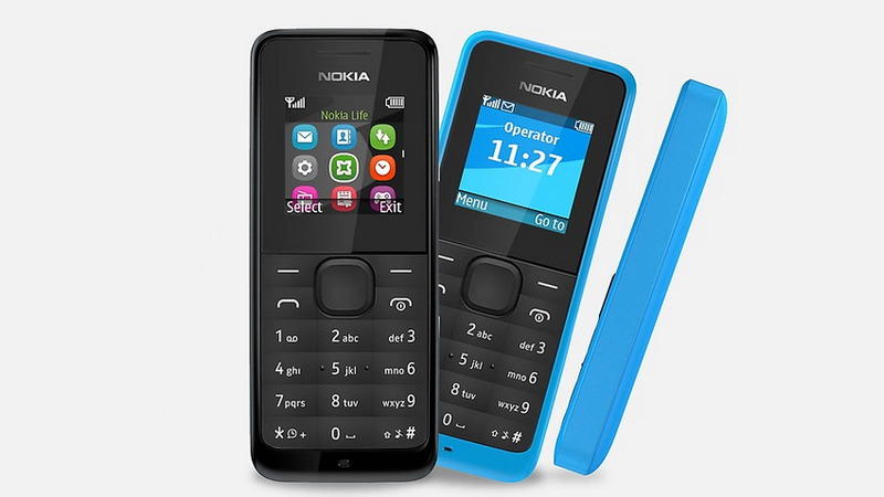 Charge This $20 Nokia Phone Once Every 35 Days