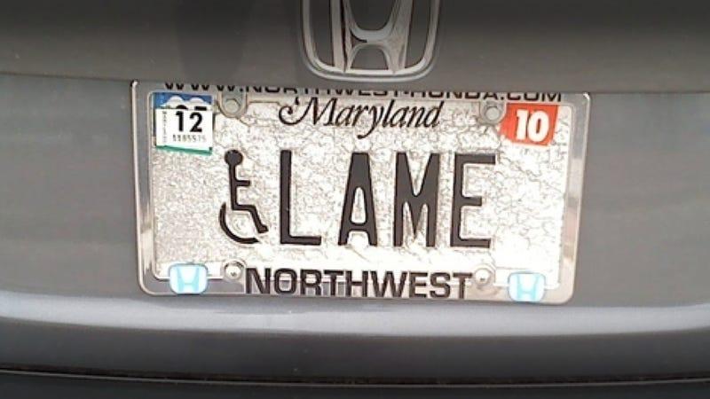Maryland Is Cracking Down On Vanity Plate Humor